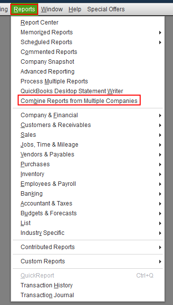 merge Quickbooks Company files